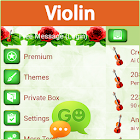 GO SMS Pro Violín icon