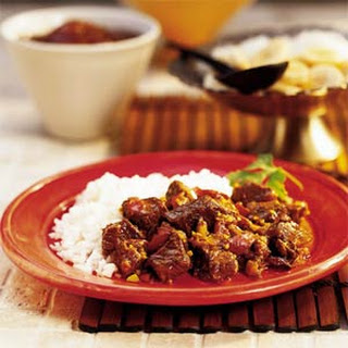 South African Beef Curry.