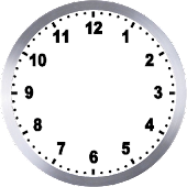 Analog simple clock