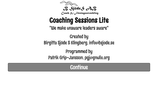 Coaching Sessions Lite