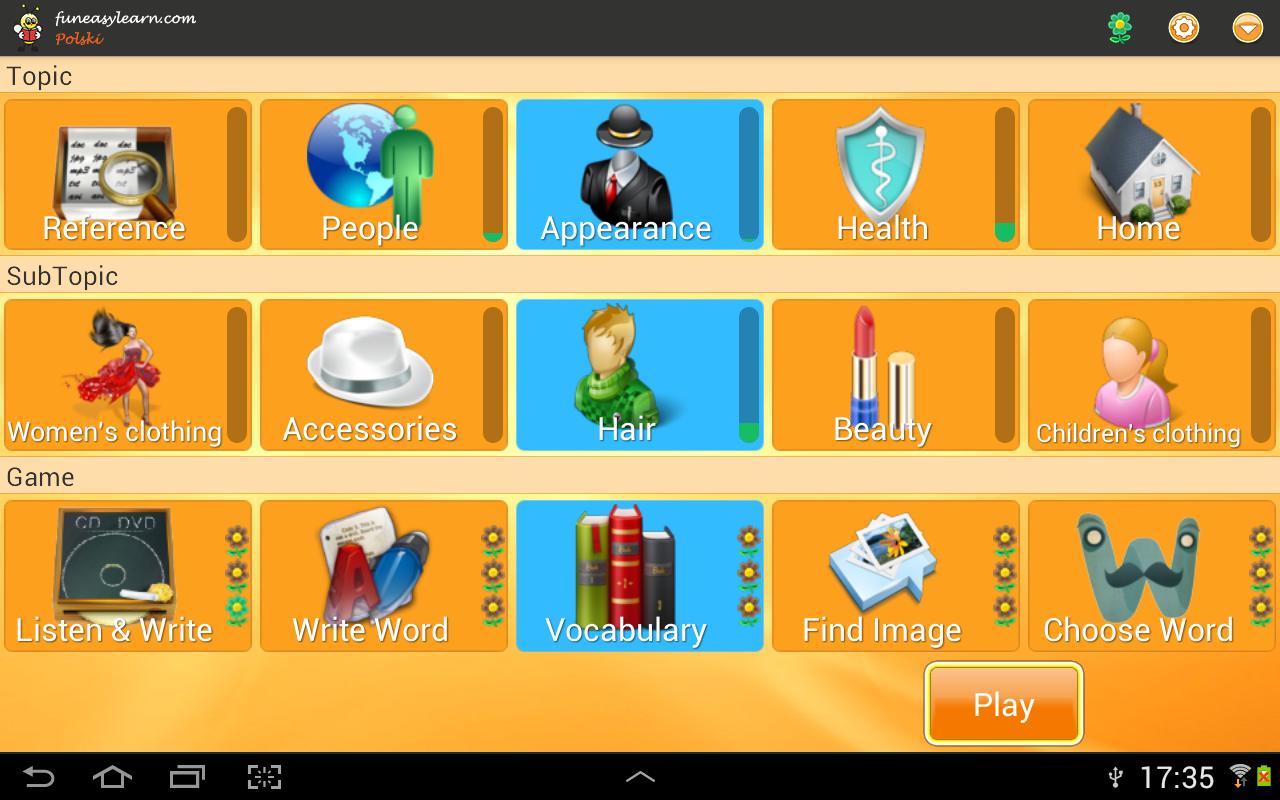 Learn Polish 6000 Words screenshot 1