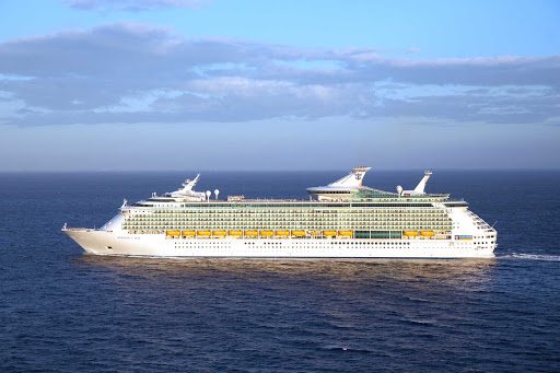 Mariner-of-the-Seas-Aerial-3 - Mariner of the Seas features three- and four-night cruises from Miami to the Bahamas.