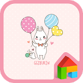 cute balloon dodol theme