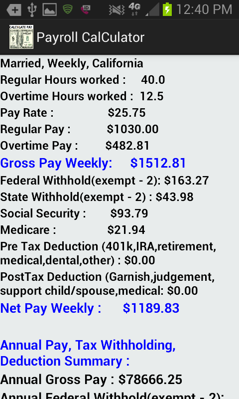 Accurate Paycheck Calculator Android Apps on Google Play – Hours Worked Calculator