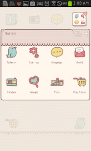 YongYong(Love) go launcher - screenshot thumbnail