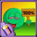 High Emoji Battery Widget