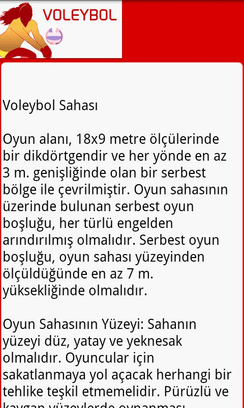 Voleybol - screenshot
