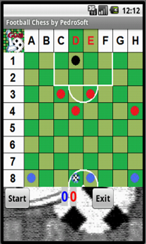 Football Chess - screenshot