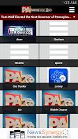 Screenshot of PAHomepage2Go