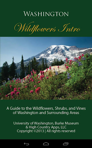 Washington Wildflowers Intro