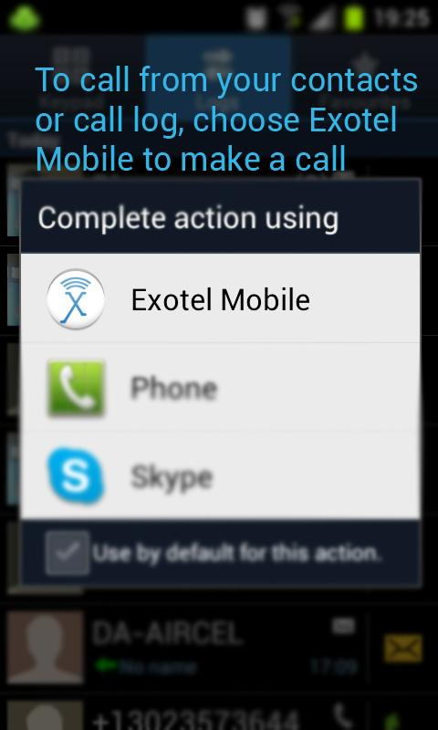 Exotel - screenshot