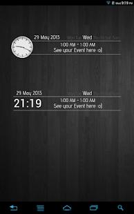 Event Clock - UCCW Skin