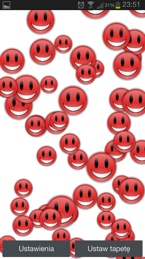 Smiley Pro Live Wallpaper - screenshot