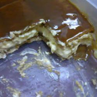 Caramel Apple Eclair Cake