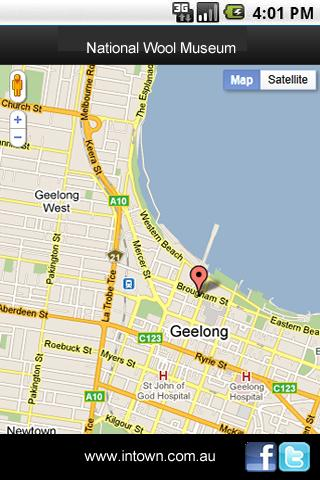 Intown Geelong Mobile- screenshot