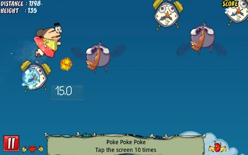 Granniac Flying Super Jump Screenshot 5