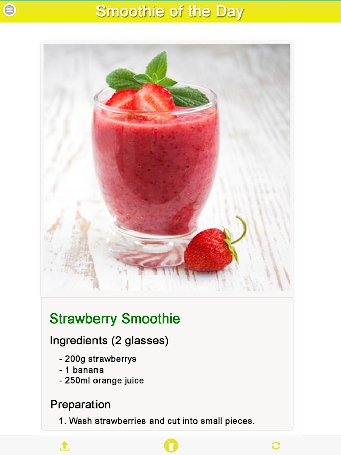 Smoothie Recipe of the Day- screenshot