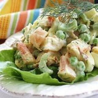 Shrimp Egg Salad.