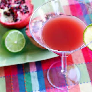 Pomegranate Cosmopolitan.