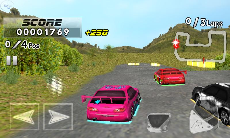 Frantic Race Free- screenshot
