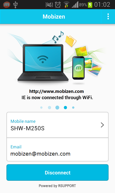 Mobizen beta - The Life Hub - screenshot