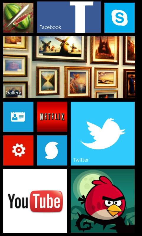 Fake Windows Phone 8 - screenshot