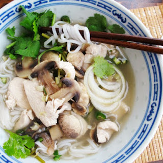 Quick Asian Chili-Lime Chicken Soup