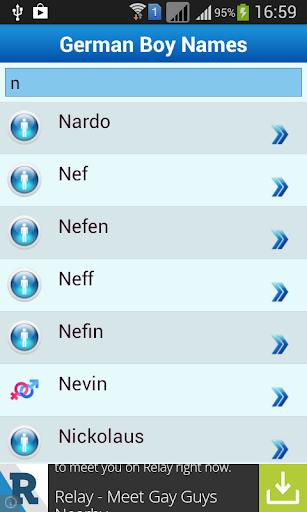 免費生活App|German Baby Names & Meaning|阿達玩APP