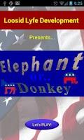 Screenshot of Elephant or Donkey!