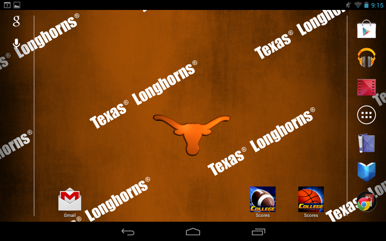 Texas Longhorns Live Wallpaper - screenshot