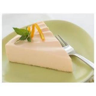 Low-Fat Orange Dream Cheesecake.