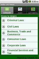 Screenshot of India Law House