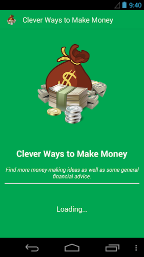 Clever ways to make money