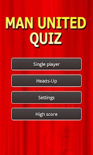 Manchester United Quiz - screenshot thumbnail