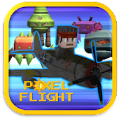 Pixel Flight - Invader Plane