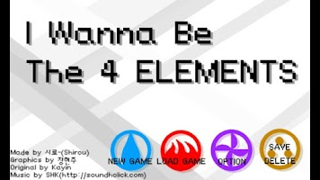 Screenshot of I Wanna Be The Four Elements