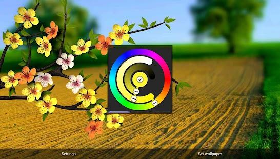 منظر يصدق مذهل Spring Flowers Parallax مدفوع,بوابة 2013 llIMJjcLcpBR3HdYbE6n
