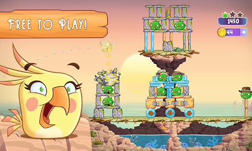 Angry Birds Slingshot Stella Screenshot 27