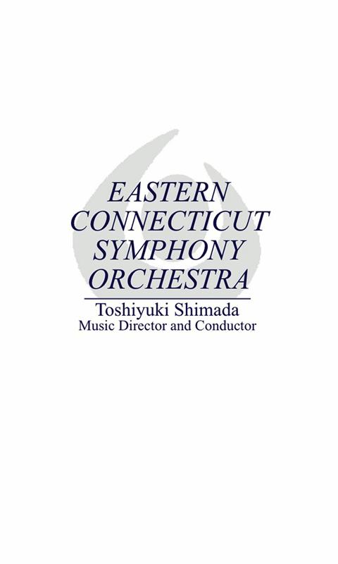 Eastern Connecticut Symphony - screenshot