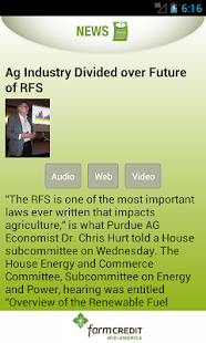 Hoosier Ag Today - screenshot thumbnail