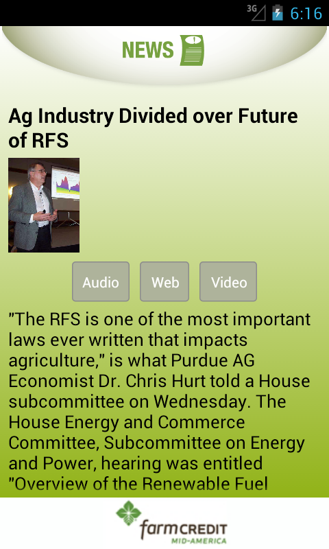 Hoosier Ag Today- screenshot