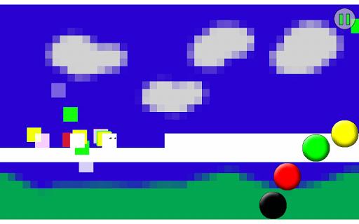 Pixel Void Runner