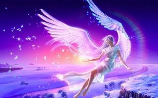 Screenshot of Fantasy Angel Wallpaper