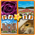 4 pics 1 word ,what's the word Apk