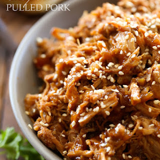 Slow Cooker Honey Sesame Pulled Pork