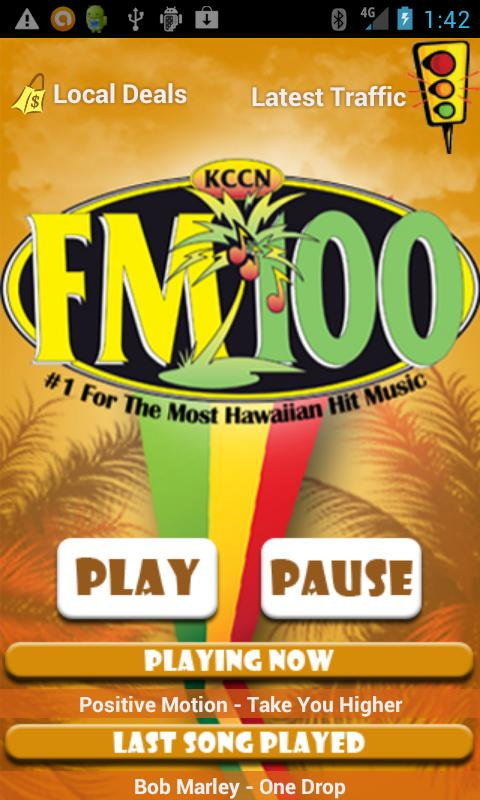 KCCN FM100 - screenshot
