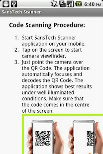 SansTech Scanner - screenshot thumbnail