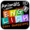 Animals Learn English Grade 1 icon