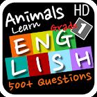 Animals Learn English Grade 1 icon