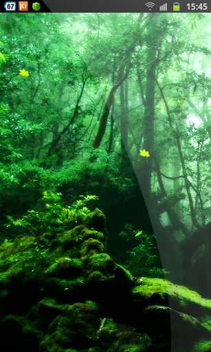 Awesome Forest Live Wallpaper